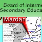 BISE Mardan Board Logo with Mardan City Location Map