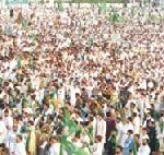 PMLN Jalsa in Swat , Amir Muqam, Nisar, Sabir and Jhagra Addressing