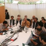 Shahbaz Sharif Meeting in tant at Minar i Pakistan Lahore