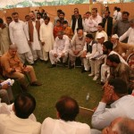 Shahbaz Sharif Meets Public in tant at Minar i Pakistan Lahore