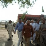 Shahbaz Sharif in a bus from model town to Minar e Pakistan 14