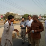 Shahbaz Sharif in a bus from model town to Minar e Pakistan 17