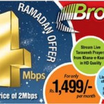 PTCL Ramadan Offers Free Upgrade