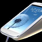Samsung I9300 Galaxy S III Angled
