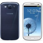 Samsung I9300 Galaxy S III While Blue