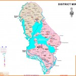 District Mirpur AJK Map