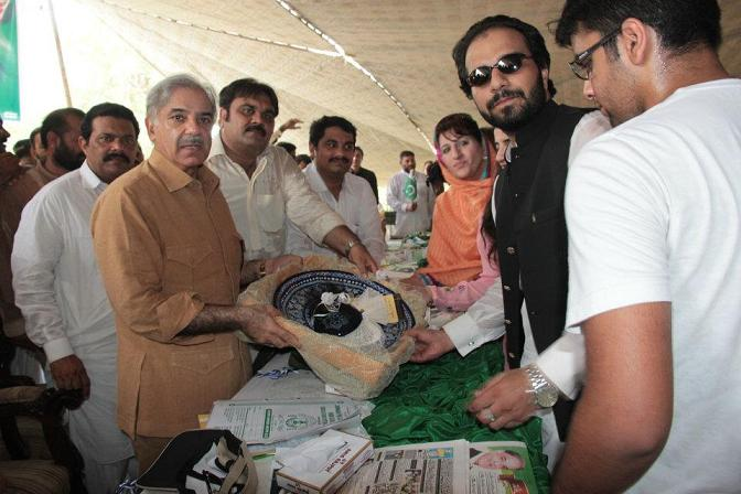 Shahbaz Sharif visits Multan on 7-8-2012 13