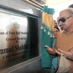 Shahbaz Sharif visits Multan on 7-8-2012 Football stadium