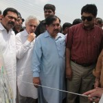 Shahbaz Sharif visits Multan on 7-8-2012 MDA officers