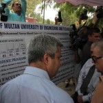 Shahbaz Sharif visits Multan on 7-8-2012 UET