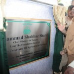 Shahbaz Sharif visits Multan on 7-8-2012 agricuulture university