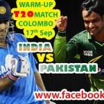 Pakistan VS India T20 Warm Up Match Watch Live