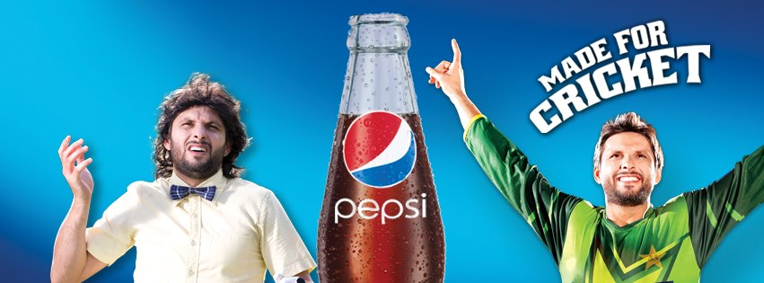 Pepsi Shahid Afridi