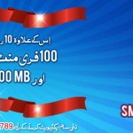 Warid New SIM Offer Free Minutes & SMS