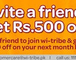 Wi-tribe Circle of Friends - Discount Offer