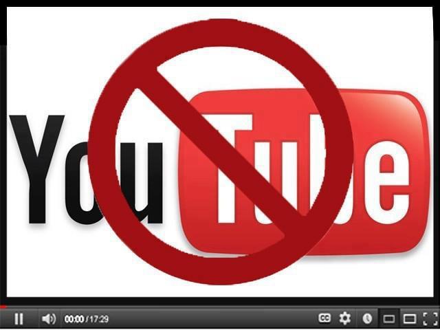 youtube blocked pakistan
