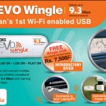 PTCL 3G EVO Wingle 9.3 Mbps WiFi USB Dongle