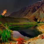 Phandar Lake of Gilgit Valley Pakistan