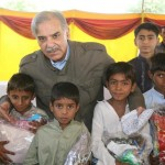 Shahbaz Sharif Offered Eid-ul-Azha Prayer in Rojhan, Rajanpur with flood affected people