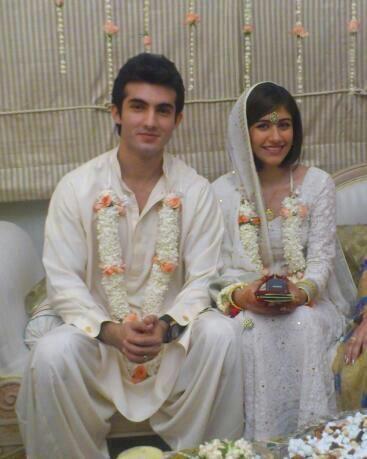 Wedding on Syra Yousuf And Shehroz Sabzwari Wedding Pictures
