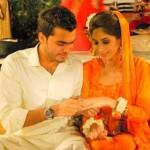 Asad Siddiqui Engagement Pictures
