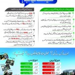 Lahore Metro Bus and mass transit underground Train system Comparison