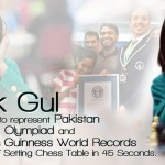 Mehak Gul Represent Pakistan At World Chess Olympiad 2012