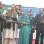 Nawaz Sharif distribute Laptops and Intership letters to youth Lahore (1)