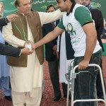 Nawaz Sharif distribute Laptops and Intership letters to youth Lahore (17)