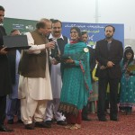 Nawaz Sharif distribute Laptops and Intership letters to youth Lahore (23)