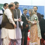 Nawaz Sharif distribute Laptops and Intership letters to youth Lahore (24)