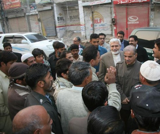 Metro Bus Islamabad: Shahbaz Sharif Visits Metro Bus Project Lahore 3