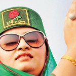 Hur Jamaat Woman Follower in PML-F Hyderabad Jalsa