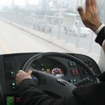 Shahbaz Sharif Drives Metrobus in Test Run (Picture Gallery)