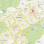 D Chowk Islamabad Location Map