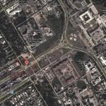 D Chowk Islamabad Satellite Map 3