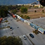 D Chowk Islamabad picture on January 14, 2013