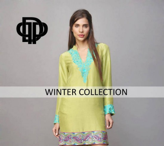 Deepak Perwani Winter Collection 3