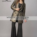 Deepak Perwani Winter Collection 4