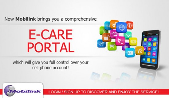 Mobilink E-Care Portal