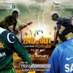 Pakistan VS India 2nd ODI 2013 - Live Match