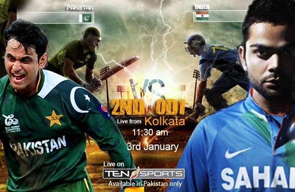 Pakistan India 2nd ODI 2013 - Polling Sports Competition January 2013