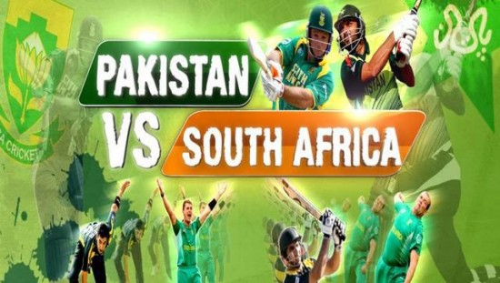 Pakistan South Africa Schedule