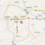 Peshawar Map