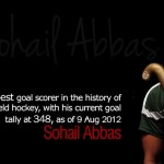 Sohail Abbas Highest Goal Scorer - Hockey Record