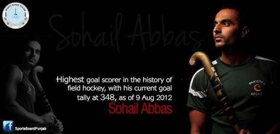 Sohail Abbas Hockey Record