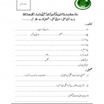 Application Form for Ticket of PML-N in Election 2013