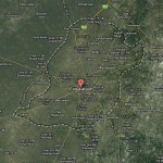 Faisalabad City Satellite Map