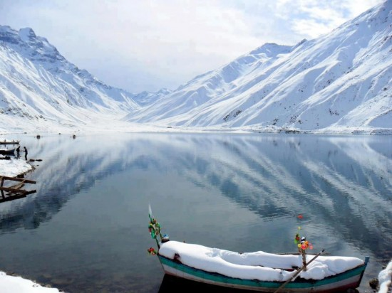 Frozen Lake Pakistan