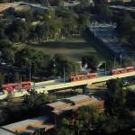 Metro Bus View near GC University Lahore